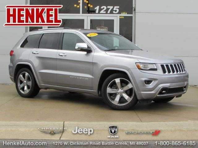 2014 jeep grand cherokee overland 4x4 overland 4dr suv for sale in battle creek michigan. Black Bedroom Furniture Sets. Home Design Ideas