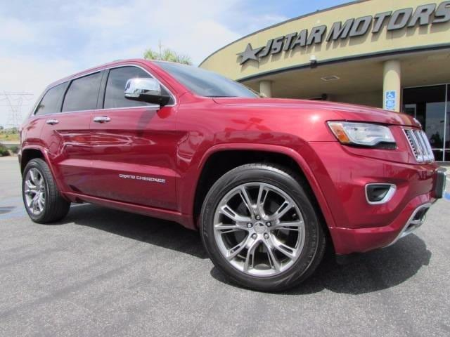 2014 jeep grand cherokee overland 4x4 overland 4dr suv for sale in anaheim california. Black Bedroom Furniture Sets. Home Design Ideas