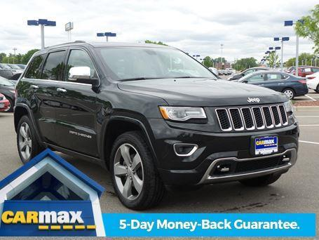 2014 jeep grand cherokee overland 4x4 overland 4dr suv for sale in minneapolis minnesota. Black Bedroom Furniture Sets. Home Design Ideas