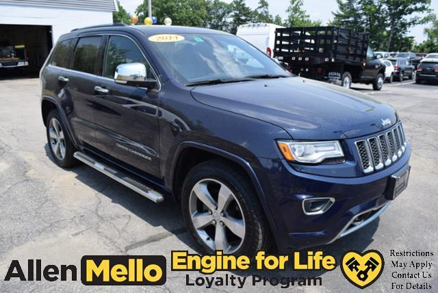 2014 jeep grand cherokee overland 4x4 overland 4dr suv for sale in nashua new hampshire. Black Bedroom Furniture Sets. Home Design Ideas