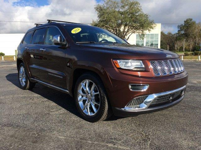 2014 jeep grand cherokee summit 4x4 summit 4dr suv for sale in gainesville florida classified. Black Bedroom Furniture Sets. Home Design Ideas