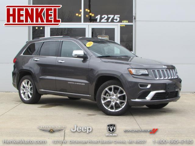 2014 jeep grand cherokee summit 4x4 summit 4dr suv for sale in battle creek michigan classified. Black Bedroom Furniture Sets. Home Design Ideas