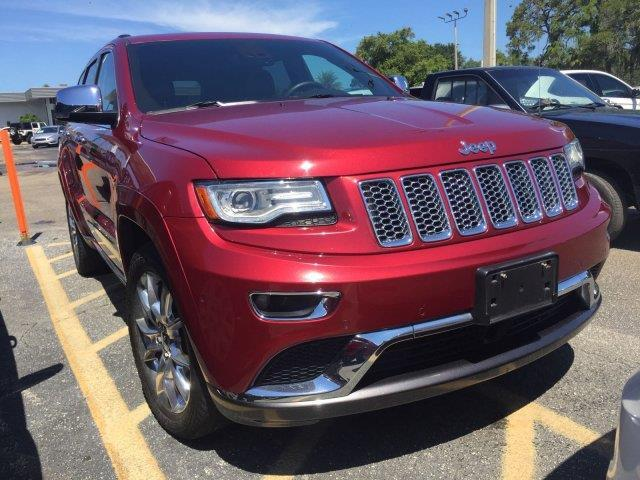 2014 Jeep Grand Cherokee Summit 4x4 Summit 4dr SUV