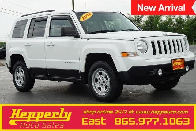 2014 jeep patriot sport 4x4 sport 4dr suv for sale in maryville tennessee classified. Black Bedroom Furniture Sets. Home Design Ideas