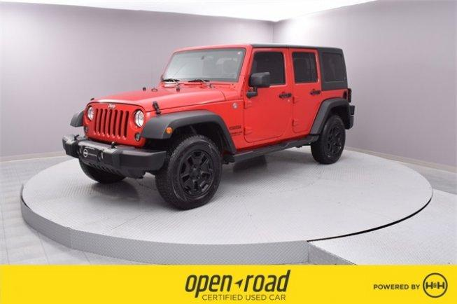 2014 Jeep Wrangler 4WD Unlimited Sport