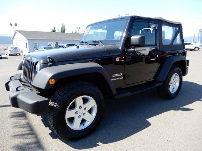 2014 jeep wrangler sport 4x4 sport 2dr suv for sale in medford oregon classified. Black Bedroom Furniture Sets. Home Design Ideas