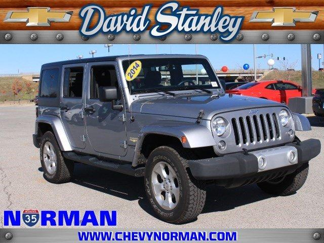 2014 jeep wrangler unlimited 4x4 sahara 4dr suv for sale in norman oklahoma classified. Black Bedroom Furniture Sets. Home Design Ideas
