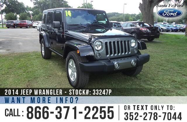 2014 Jeep Wrangler Unlimited - 5K Miles - On-site
