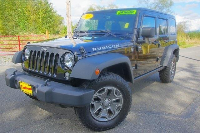 2014 jeep wrangler unlimited rubicon 4x4 rubicon 4dr suv for sale in arlington washington. Black Bedroom Furniture Sets. Home Design Ideas
