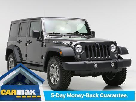 2014 Jeep Wrangler Unlimited Rubicon 4x4 Rubicon 4dr