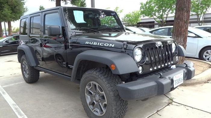 2014 jeep wrangler unlimited rubicon 4x4 rubicon 4dr suv for sale in fresno california. Black Bedroom Furniture Sets. Home Design Ideas