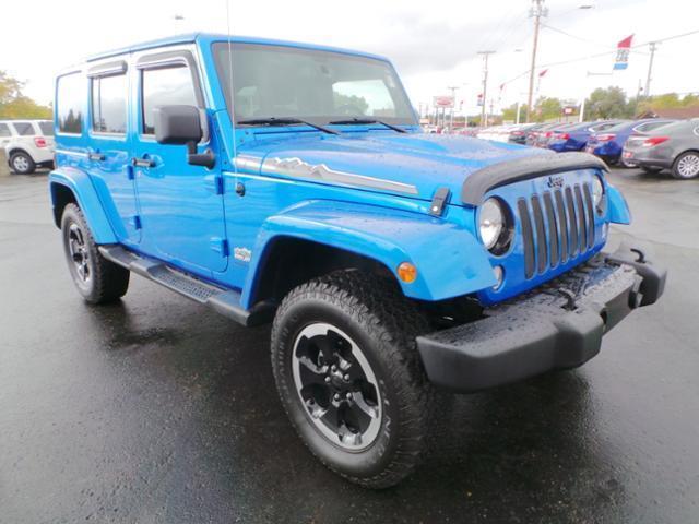 2014 jeep wrangler unlimited sahara 4x4 sahara 4dr suv for sale in alliance ohio classified. Black Bedroom Furniture Sets. Home Design Ideas
