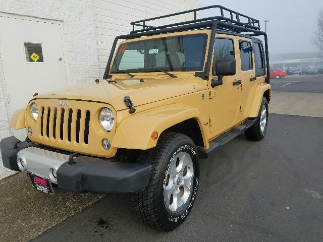 2014 jeep wrangler unlimited sahara 4x4 sahara 4dr suv for sale in medford oregon classified. Black Bedroom Furniture Sets. Home Design Ideas