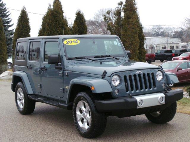 2014 jeep wrangler unlimited sahara 4x4 sahara 4dr suv for sale in meskegon michigan classified. Black Bedroom Furniture Sets. Home Design Ideas