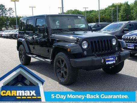 2014 jeep wrangler unlimited sahara 4x4 sahara 4dr suv for. Black Bedroom Furniture Sets. Home Design Ideas
