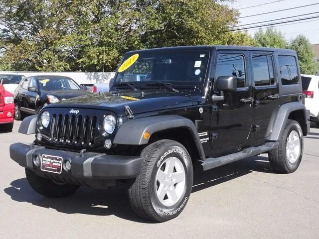 2014 jeep wrangler unlimited sport 4x4 sport 4dr suv for sale in wallingford connecticut. Black Bedroom Furniture Sets. Home Design Ideas