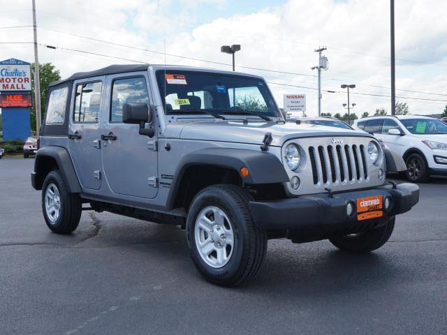 2014 jeep wrangler unlimited sport 4x4 sport 4dr suv for sale in augusta maine classified. Black Bedroom Furniture Sets. Home Design Ideas