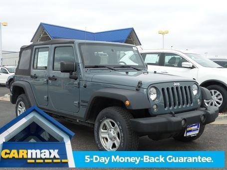 2014 Jeep Wrangler Unlimited Sport 4x4 Sport 4dr SUV
