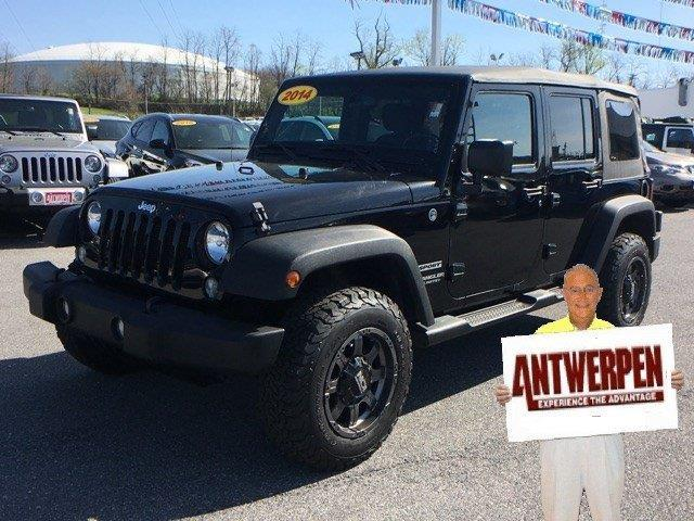 2014 jeep wrangler unlimited sport 4x4 sport 4dr suv for sale in baltimore maryland classified. Black Bedroom Furniture Sets. Home Design Ideas