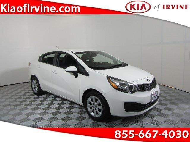 2014 kia rio lx lx 4dr sedan 6a for sale in irvine for Kia motors irvine ca