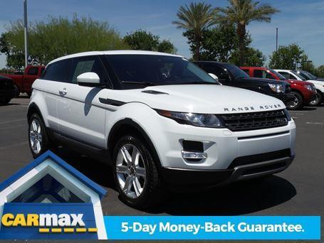 2014 land rover range rover evoque coupe pure plus awd pure plus 2dr suv for sale in gilbert. Black Bedroom Furniture Sets. Home Design Ideas