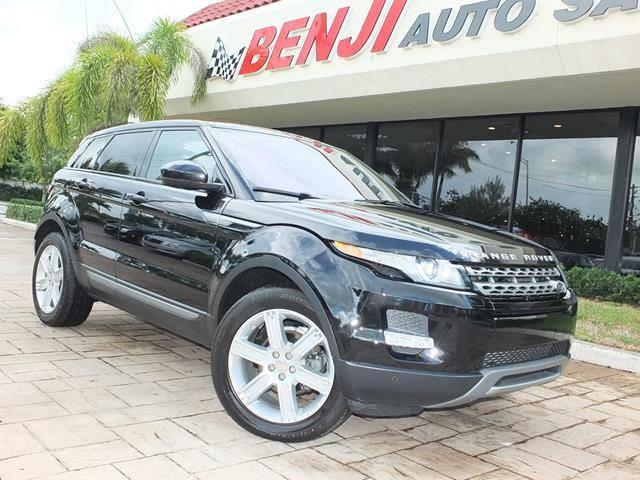 2014 land rover range rover evoque pure plus awd pure plus 4dr suv for sale in pembroke park. Black Bedroom Furniture Sets. Home Design Ideas
