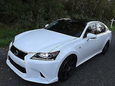2014 lexus gs350 custom 20 inc staggered lowered fully loaded salvage for sale in tacoma. Black Bedroom Furniture Sets. Home Design Ideas