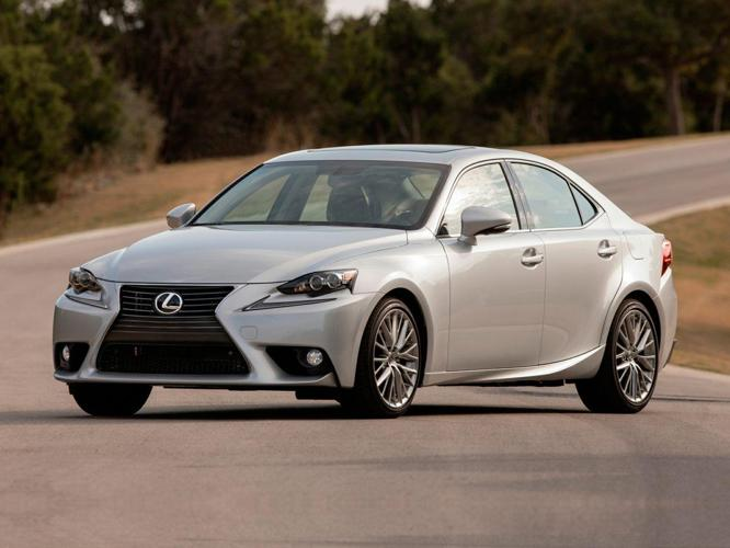 2014 Lexus IS 250 Base 4dr Sedan