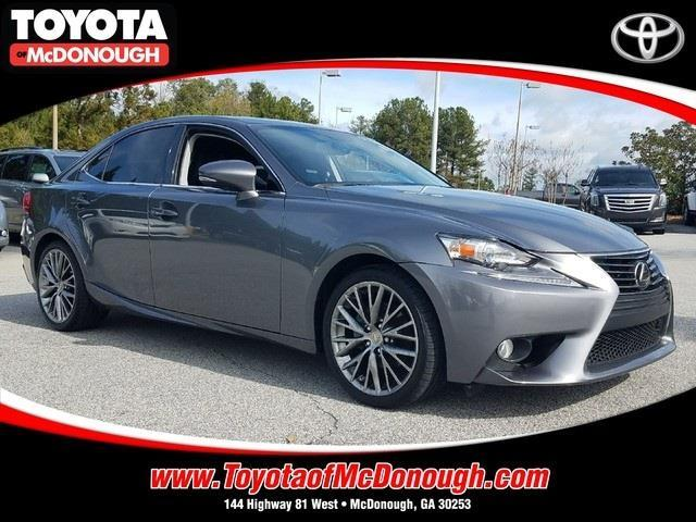 2014 lexus is 250 base 4dr sedan for sale in mcdonough georgia classified. Black Bedroom Furniture Sets. Home Design Ideas