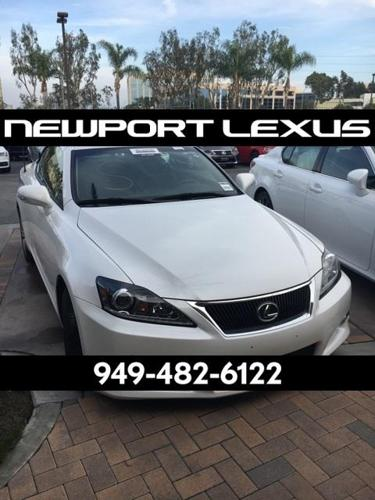 2014 lexus is 250c base 2dr convertible for sale in newport beach california classified. Black Bedroom Furniture Sets. Home Design Ideas
