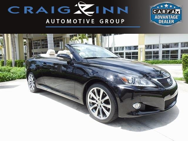 2014 lexus is 250c base 2dr convertible for sale in miami. Black Bedroom Furniture Sets. Home Design Ideas