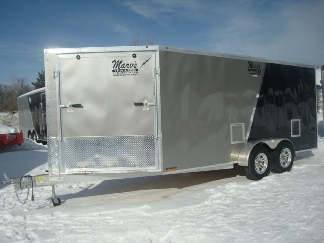 2014 Lightning 7x16 Plus 5 V Nose Aluminum Snowmobile Atv