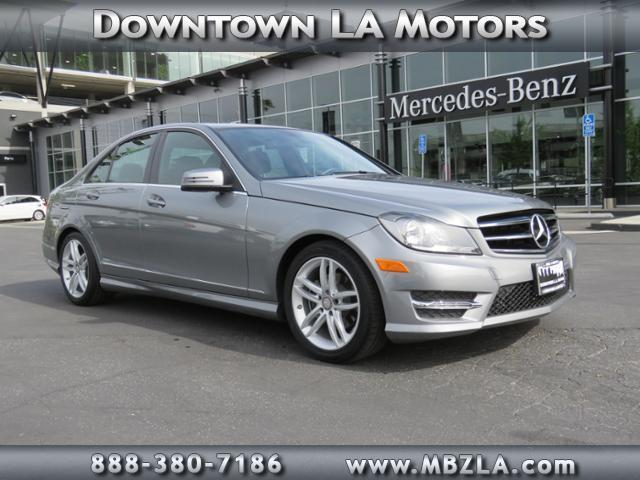 2014 mercedes benz c class c 250 sport c 250 sport 4dr for Mercedes benz downtown la motors
