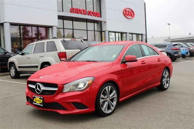 2014 mercedes benz cla cla 250 cla 250 4dr sedan for sale for Mercedes benz for sale seattle