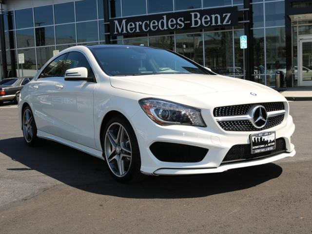 2014 mercedes benz cla cla 250 cla 250 4dr sedan for sale for Downtown la motors mercedes benz