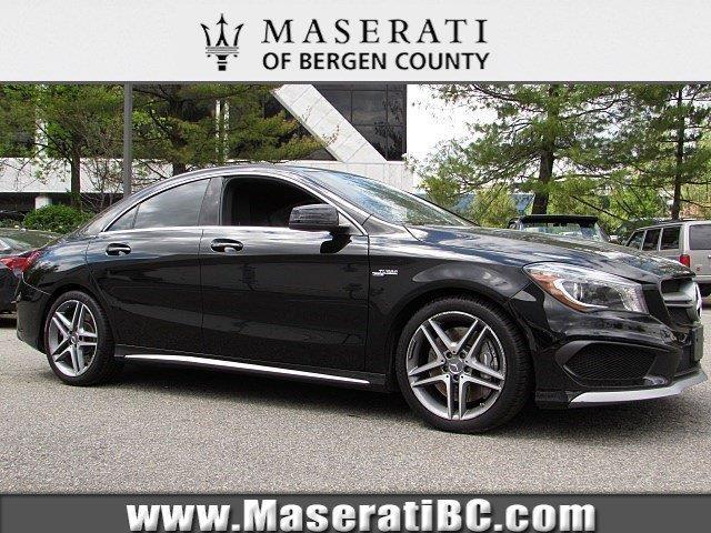 2014 mercedes benz cla cla 45 amg awd cla 45 amg 4matic 4dr sedan for sale in saddle river new. Black Bedroom Furniture Sets. Home Design Ideas