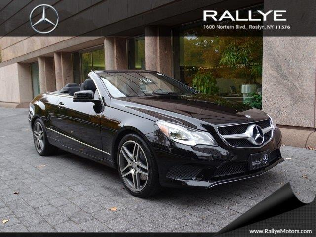 2014 mercedes benz e class e 350 e 350 2dr convertible for sale in roslyn harbor new york. Black Bedroom Furniture Sets. Home Design Ideas