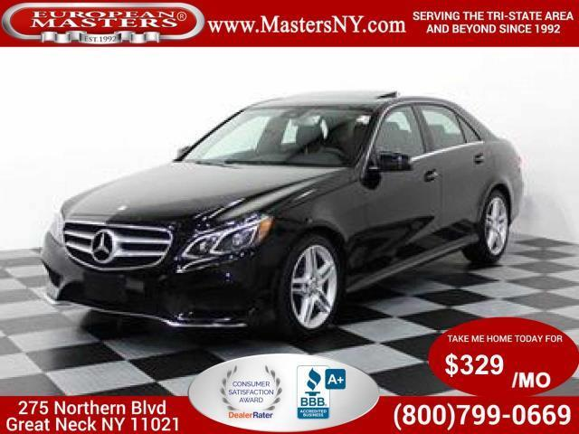 2014 Mercedes-Benz E-Class E 350 Luxury 4MATIC AWD E
