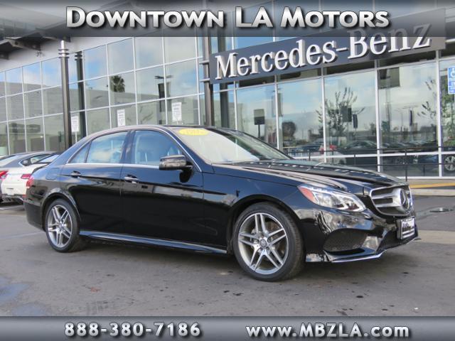 2014 mercedes benz e class e 350 luxury e 350 luxury 4dr for Downtown la motors mercedes benz