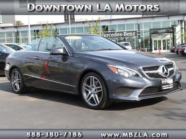 2014 mercedes benz e class e350 e350 2dr convertible for for Downtown la motors mercedes benz