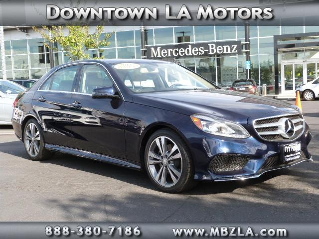 2014 Mercedes Benz E Class E350 Sport E350 Sport 4dr Sedan