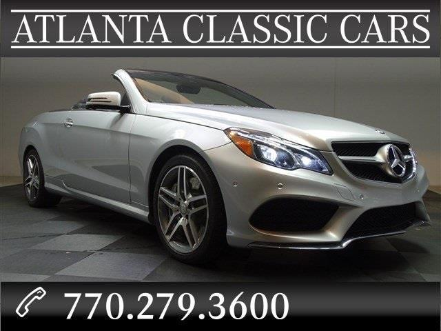 2014 mercedes benz e class e550 e550 2dr convertible for sale in duluth georgia classified. Black Bedroom Furniture Sets. Home Design Ideas