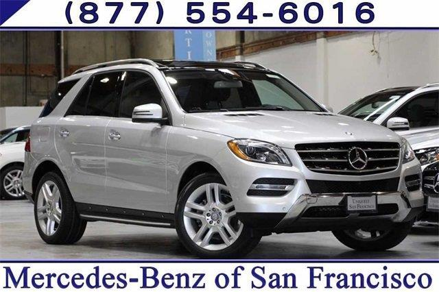 2014 mercedes benz m class ml 350 4matic awd ml 350 4matic 4dr suv for sale in san francisco. Black Bedroom Furniture Sets. Home Design Ideas