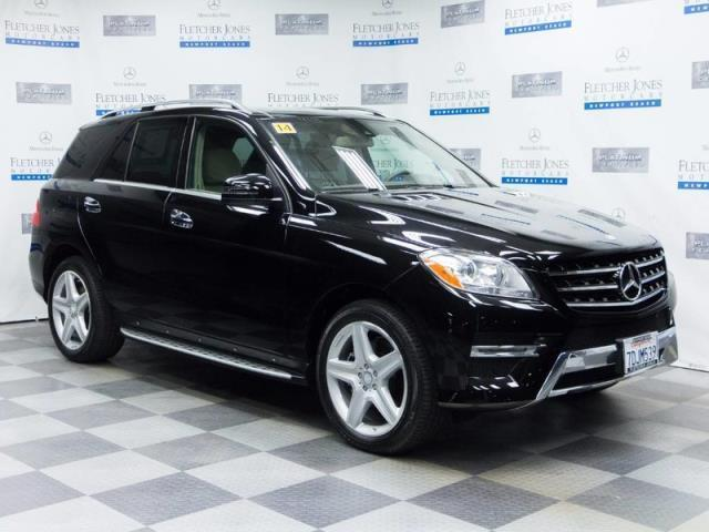 2014 mercedes benz m class ml 350 4matic awd ml 350 4matic 4dr suv for sale in newport beach. Black Bedroom Furniture Sets. Home Design Ideas