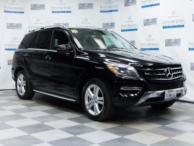2014 Mercedes-Benz M-Class ML 350 BlueTEC AWD ML 350