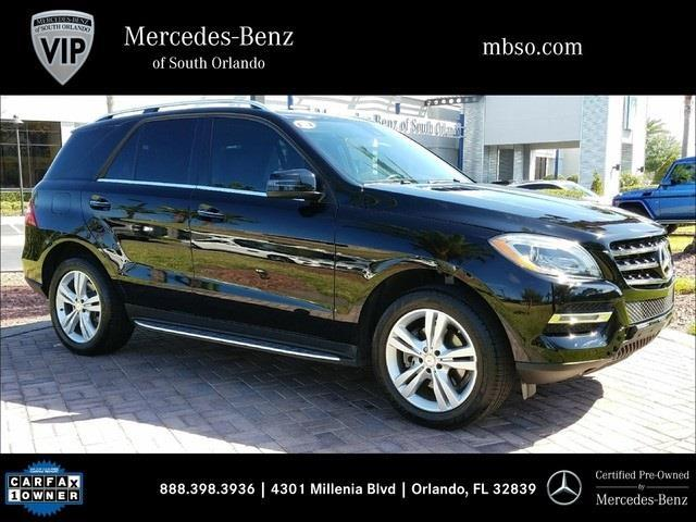 2014 mercedes benz m class ml 350 ml 350 4dr suv for sale for Mercedes benz in orlando fl