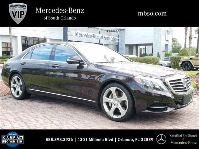 2014 mercedes benz s class s 550 s 550 4dr sedan for sale for Mercedes benz south orlando