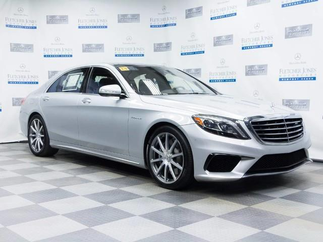 2014 Mercedes-Benz S-Class S 63 AMG AWD S 63 AMG 4MATIC