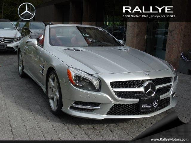 2014 mercedes benz sl class sl 550 sl 550 2dr convertible for sale in roslyn harbor new york. Black Bedroom Furniture Sets. Home Design Ideas