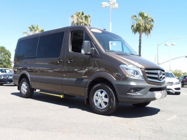 2014 mercedes benz sprinter 2500 144 wb 3dr passenger van for Mercedes benz sprinter passenger van for sale